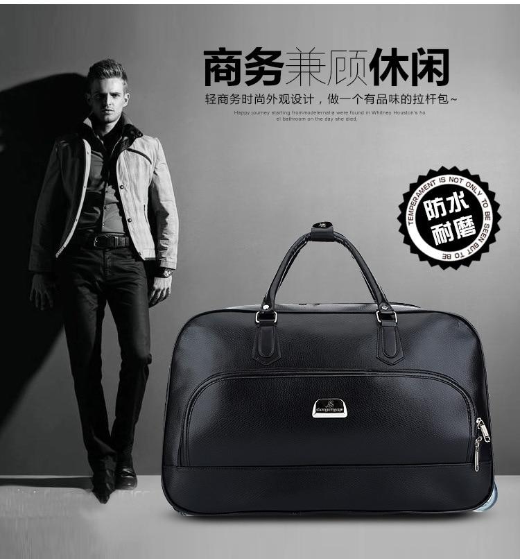 New 19 Inch Man Business Trolley Travel Bag Women Fashion Travel ... 192899ed01cf8