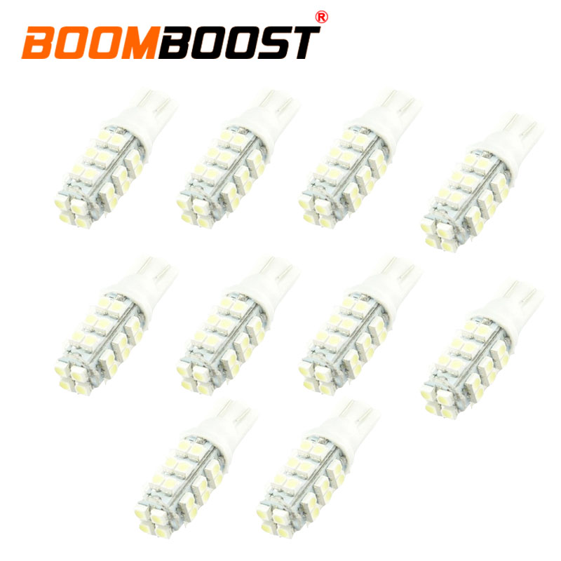 hot sale <font><b>10</b></font> <font><b>pcs</b></font> best selling 10W 28SMD 3528 Car <font><b>LED</b></font> reading lamp car dome <font><b>LED</b></font> brake light width lamp 194 168 image
