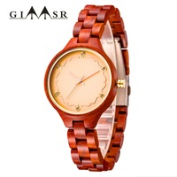 Women`s Wood Watch Fashion Relogio Masculino Luminous Luxury Top Brand Chronograph Wooden Watches erkek kol saati Drop Shipping