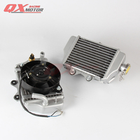 150cc 200cc 250cc zongshen loncin lifan motorcycle water cooled engine radiator xmotos apollo water box with fan accessories