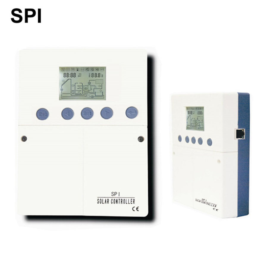 Solar Water Heater Controller SPI Multi Collector and Tank System Control Solar Heat Collecting Control