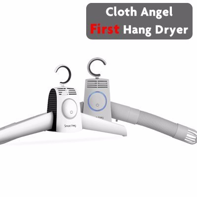Smart Frog Mini Portable Folding Dry Racks Fast Drying Hanger with Heater Hot and Cold Wind Adjustabel suitable for Traveling