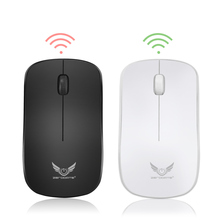 лучшая цена ZERODATE Wireless Mouse USB Rechargeable Optical Mouse 1600DPI Office Computer Mouse  2.4G