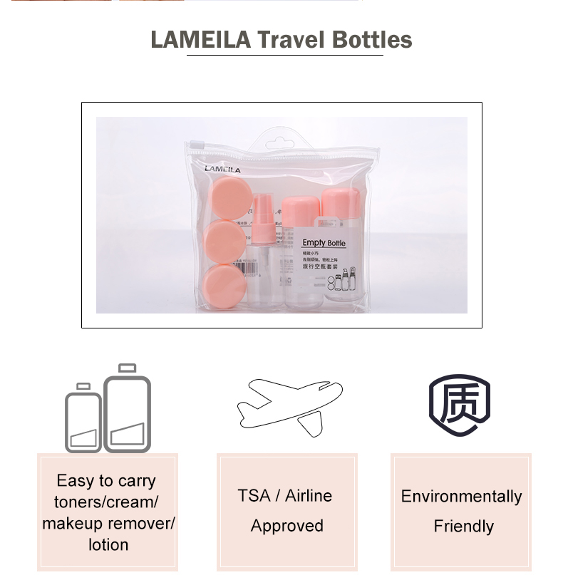 Travel Cosmetic Refillable Bottle