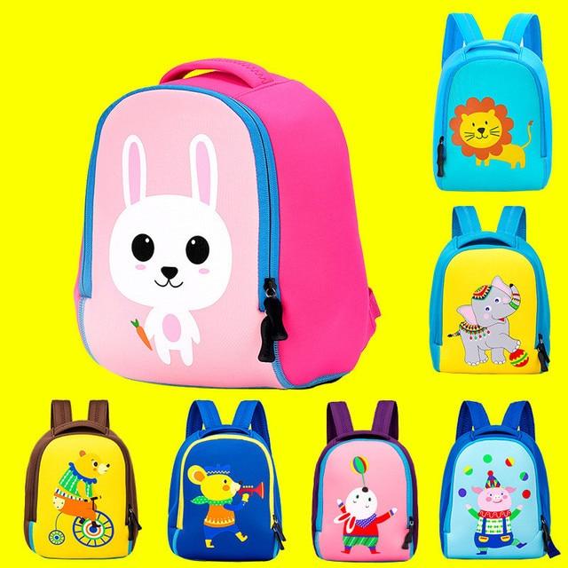e1418fcc26c4 Children Toddler Kids Backpack Waterproof Durable Animal Cartoon Pre School  Kindergarten Backpack Boys Girls Gift