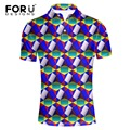 FORUDESIGNS Polo Shirt Top Quality Fashion Men 2017 Short Sleeve Turn-down Collar Polos Hombre Men's Casual Loose New Brand POLO