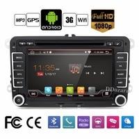 Pure Android Car DVD Quad Core 12G ROM 800 480 Screen Car Raio For VW Golf