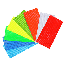 1 Pc 21cm X 8cm Bicycle Reflector Fluorescent MTB Road Bike Sticker Cycling Wheel Rim Reflective Stickers Decal