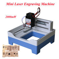 1pc 2000mw USB Engraver Mini Laser Engraving Machine DIY Laser Engraver DIY Engraving Machine