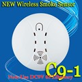 Free Shipping! Wireless Smoke Fire Detector Sensor 433MHz 1527 Just For Our G5S Alarm System