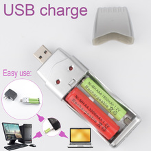 portables usb battery charger Universal AA/AAA Ni-MH Battery Rechargeable Batteries 3.7v power Retail Package free shipping