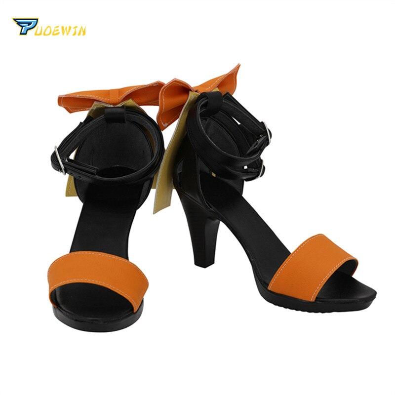 Vocaloid Hatsune Miku GUMI Mercy Megpoid Teto Cosplay Shoes Boots Halloween