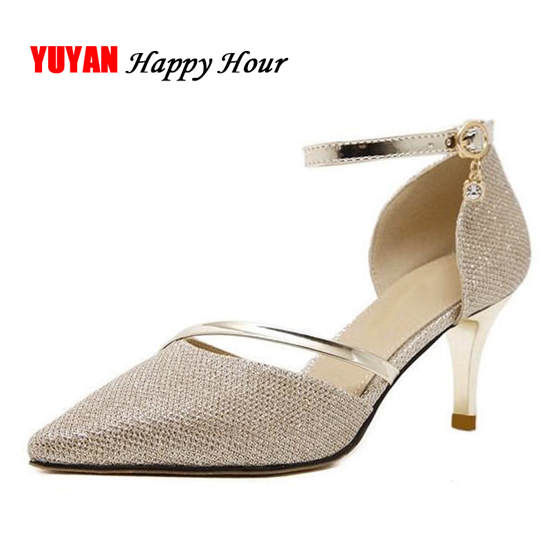 New Fashion Pointed toe High Heels Women Heeled Shoes Sexy Footwear Women's Pumps Office Ladies Brand Thin Heel 6.5cm ZH2425 цена
