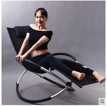American creative rocking chair, chaise longue. Lazy sofa. Lunch chairs