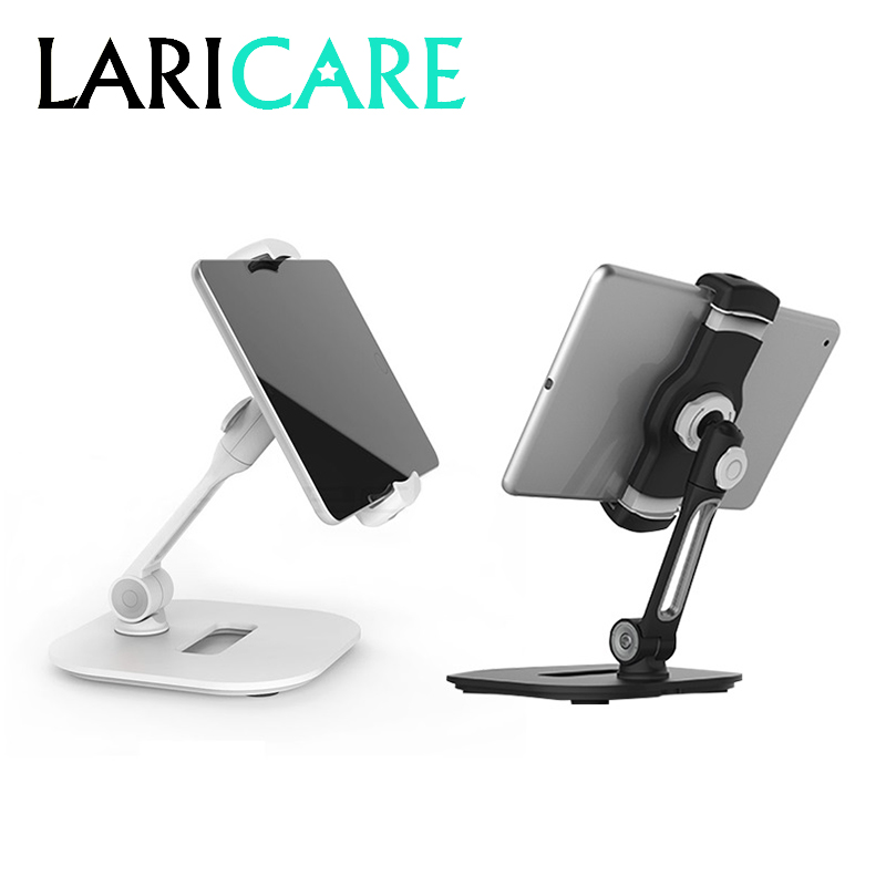 LARICARE aluminum tablet & phone stand holder, rotatable adjustable tablet support car stand holder LD-204D