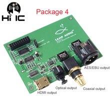 Amanero Interfaz Digital USB XMOS, I2S / IIS a Coaxial, óptica, salida HDMI SPDIF AES
