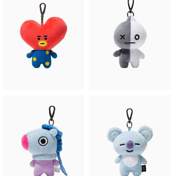 68f68abe5553 BT21 Love Yourself Kpop Bangtan boys BTS same Pillow plush warm bolster Q  back lovely Doll TATA hot sale 2018