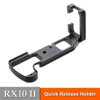 RX10II Quick Release L Plate RX10 II Bracket Holder support