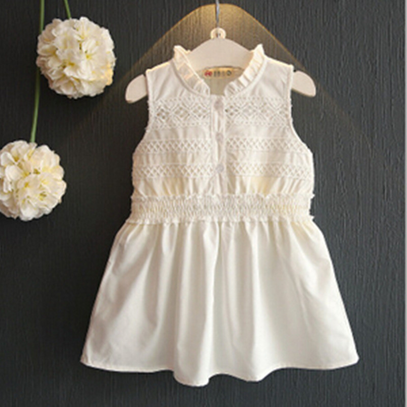 White lace Princess dress Children Clothing crochet dress Spring summer Baby Girl dress Clothes Girl Kid's Party Dress Baby maternity clothing spring twinset lace fairy princess wedding one piece dress white embroidery dress full dress summer