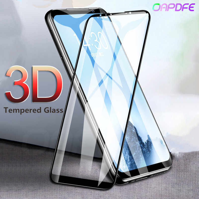 3D Full Cover Tempered Glass for MEIZU 16 16th X8 M6 Note 8 M6S M6T Screen Protector for Meizu 15 M8 Pro 7 Plus safety Film Case