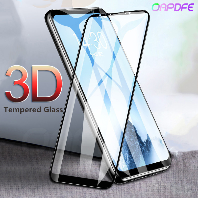3D Full Cover Tempered Glass for <font><b>MEIZU</b></font> <font><b>16</b></font> 16th X8 M6 Note 8 M6S M6T Screen Protector for <font><b>Meizu</b></font> 15 M8 <font><b>Pro</b></font> 7 Plus safety Film Case image