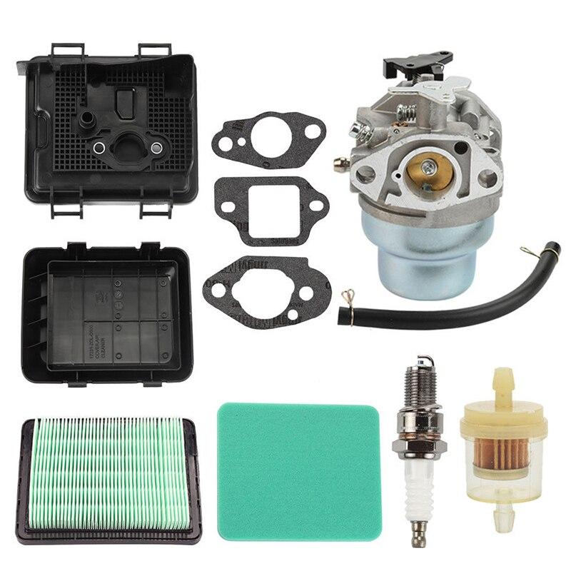 Carburetor Kit Air Fuel Filter Cover For Honda GCV135 GCV160 Engine Lawn Mower Accessories
