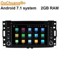 Ouchuangbo Car Audio Dvd Gps Stereo Radio Fit For Hummer H3 2006 2009 With USB BT