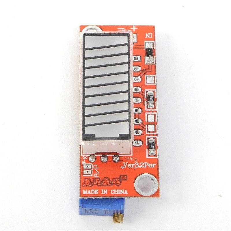 V3.2 4 Couleur Batterie Capacité Indicateur Module Coloré Batterie