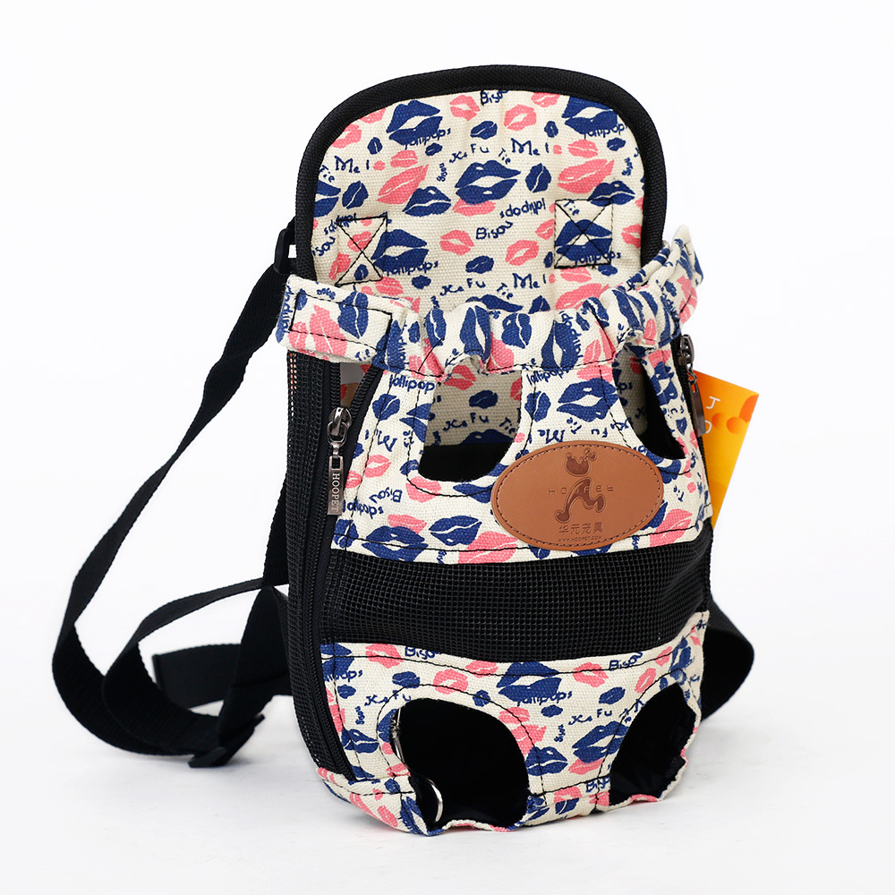 Dog Carrier - Backpack breathable shoulder puppy carrier 3