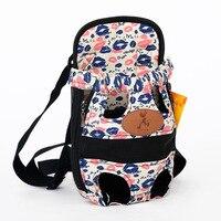 HOOPET Dog carrier fashion red color Travel dog backpack breathable pet bags shoulder pet puppy carrier 3