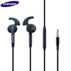Image 1 - 20 PCS Hohe Qualität EO EG920 3,5mm In Ohr Stereo Kopfhörer mit Mic Logo Sport Freisprecheinrichtung Für samsung Galaxy S7 /S7 rand