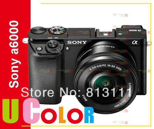 Sony A6000 Mirrorless Digital Camera ILCE-6000L with 16-50mm Lens -24.3MP -Full HD Video Brand New sony ilce 6000 a6000y a6000 24 3 mp digital camera body