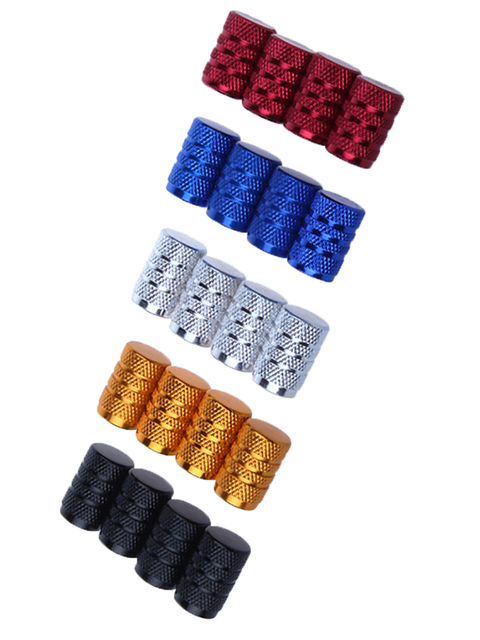 4Pcs Bike Wheel Tire Covered Car Motorcycle Truck universal Tube Tyre Bicycle AV SV American AIR Valve Cap Dustproof 10 colors 3