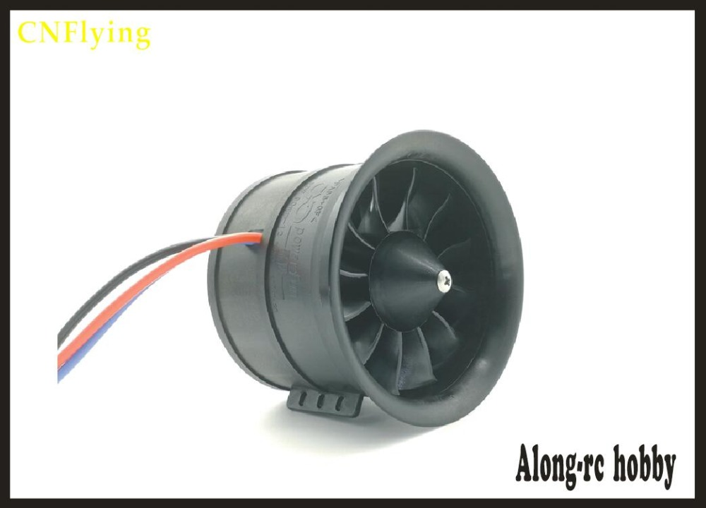 free shipping powerfun 12 blades 90MM EDF set 6S <font><b>1450KV</b></font> 3.7KG thrust 8S 1100KV 4.2KG thrust for 6-8s 90mm EDF plane image