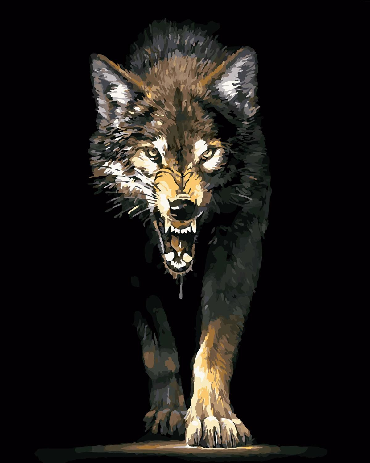 Fierce wolves Picture ...