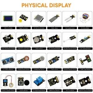 Image 4 - Mới Nhất! Keyestudio 48 Trong 1 Cảm Biến Bộ Khởi Đầu Kèm Hộp Quà Tặng Cho Arduino Tự Làm Các Dự Án (48 Cái Cảm Biến)