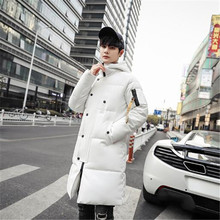 2018 new winter hat warm fashion long sleeves long letters ribbon mens casual down cotton clothes cheap Turn-down Collar REGULAR Patchwork Broadcloth Spliced Button Polyester 2018MY-01639 NoEnName_Null Thick zipper NONE