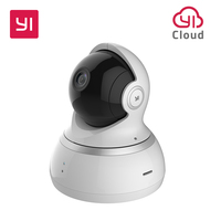 YI Dome Camera 1080P Wireless IP Security Surveillance System 360 Degree Coverage Night Vision EU Cloud
