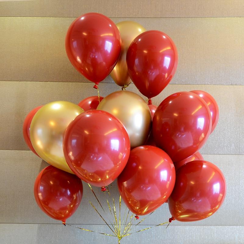 Ruby Balloons Metallic Balloon Wedding Birthday Party