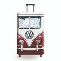Чехол для чемодана JULY'S SONG, дорожный аксессуар для багажа, эластичный пылезащитный чехол на чемодан 18-32 дюйма