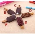 Venta al por mayor 5 estilo helado pen drive 8 GB 16 GB 32 GB 64 GB unidad flash usb Popsicle deliciosa memoria palillo de la historieta pendriver regalo