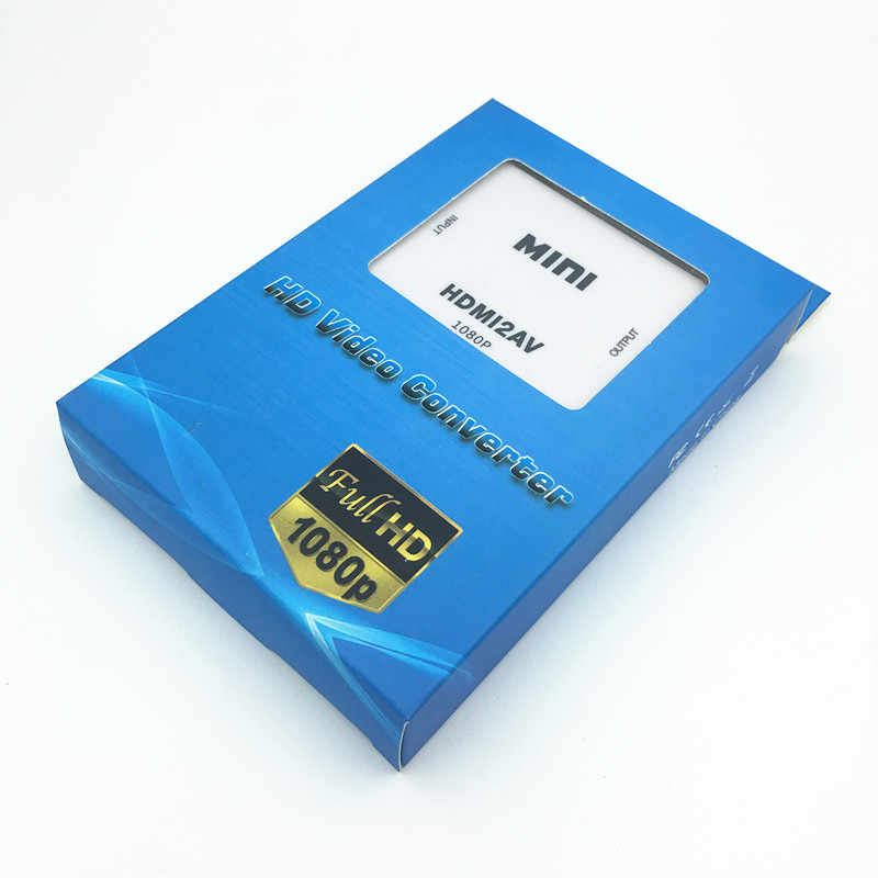 1080P HDMI TO AV 3 RCA COMPOSITE CVBS S-VIDEO CONVERTER ADAPTER PS3 - Համակարգչային մալուխներ և միակցիչներ - Լուսանկար 6