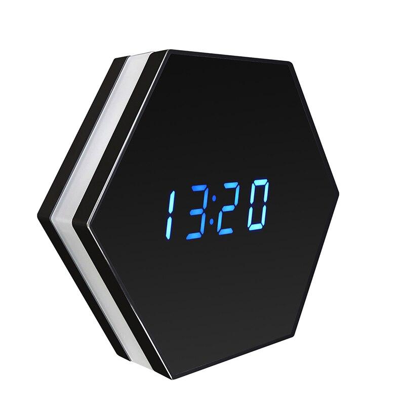 Mini Câmera de Visão Noturna Relógio Eletrônico Sem Fio WI-FI Câmera IP P2P CCTV TV Monitor Do Bebê Câmera de Monitoramento de Segurança Em Casa