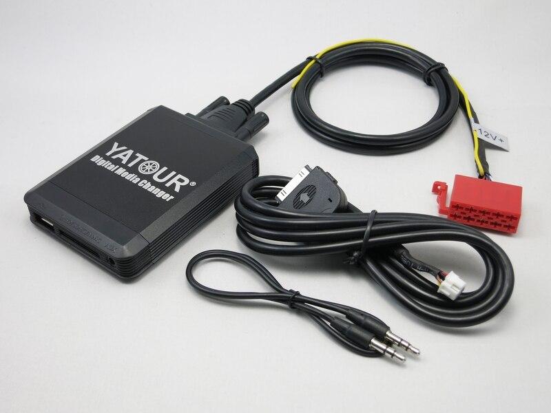 Yatour YT-M07 pour iPod iPhone USB SD AUX numérique changeur de médias pour VW Gamma 4 unité de tête Radio 10 broches Audio voiture lecteur MP3