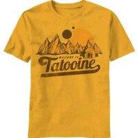새로운 디자인 남성 T 셔츠 스타 워즈 환영합니다