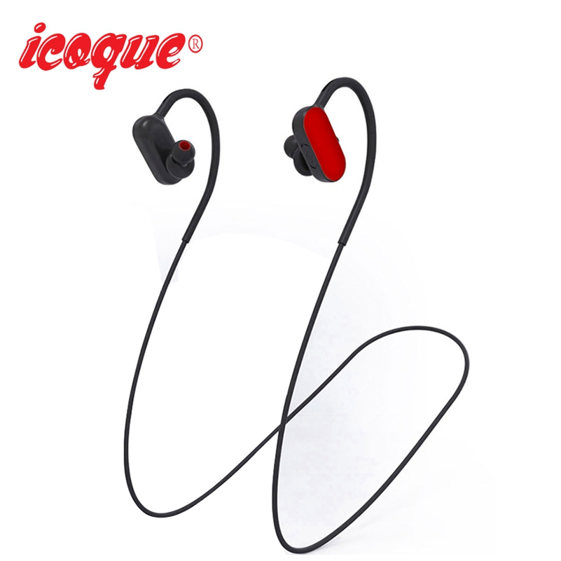 Icoque Bluetooth Headphone Stereo Hifi Music Earbuds In-ear Headphone with Mic for iPhone 8 Xiaomi Samsung S6 Bluetooth Earphone syllable d700 bluetooth 4 1 earphone sport wireless hifi headset music stereo headphone for iphone samsung xiaomi no box
