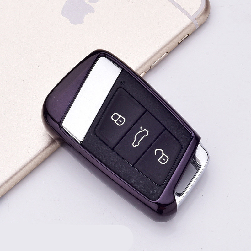 Image 3 - Soft TPU Protection Remote Key Cover Case For Skoda Superb A7 For Volkwagen Passat B8 VW Golf Gte Car Styling Accessorise-in Key Case for Car from Automobiles & Motorcycles