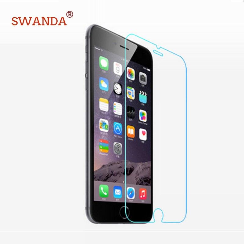 imágenes para Para el iphone 5 protector de Pantalla de cristal para el iphone 6 para el iphone 5 SÍ 5C vidrio templado para iphone7 4S 7 plus de vidrio 20/lot vidrio