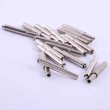 50Pcs Round Head Short Mouth Positioning Needle Length 36mm Drilling Test Probe Electrical Accessories Nickel Plated