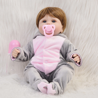 Cosplay Elephant Reborn Baby Dolls DIY Toys 16 Inch Realistic Silicone Babies Doll Touch Soft Cartoon